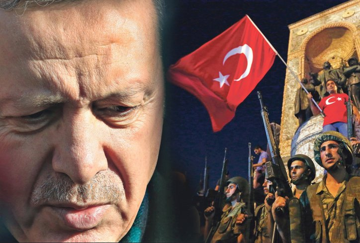 Ердоган: Ќе ги исчистиме институциите од вирусот