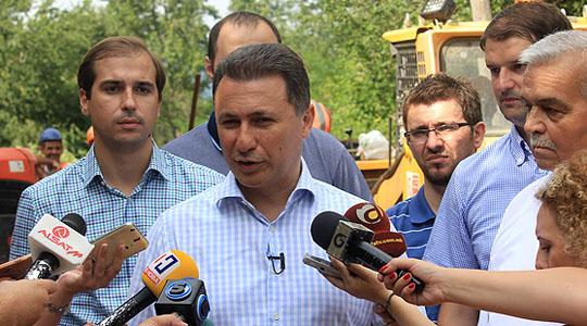 Груевски во посета на општина Илинден