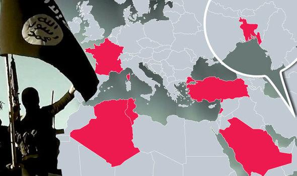 ФОТО: ИД објави мапа – Еве каде се има оперативни ќелии во Европа