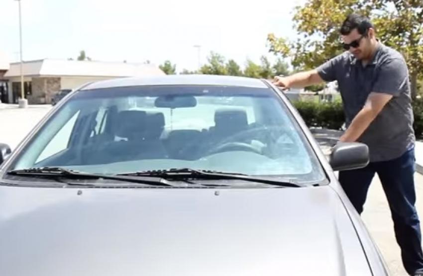 ВИДЕО: Разладете го автомобилот за 10 секунди без клима