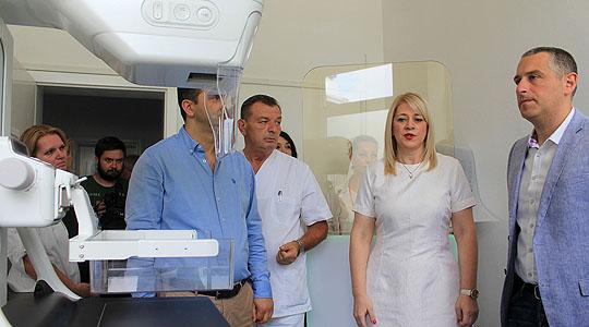 Нов современ дигитален мамограф во Поликлиниката Букурешт