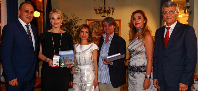 Канческа-Милевска се сретна со Елина Гаранча и со Ион Мартин