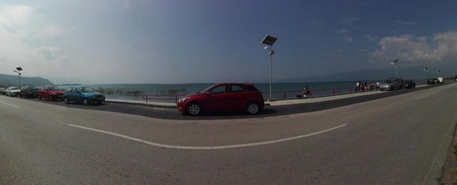 ФОТО: Нова пешачка патека покрај Охридското езеро