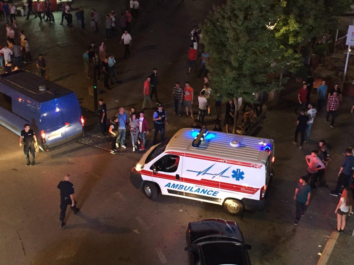 Паника во Приштина, над 40 лица повредени