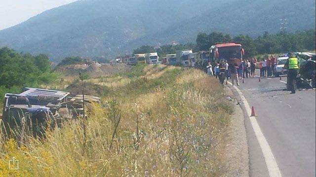 ФОТО: Страшна сообраќајка кај Охрид, неофицијално има и жртви