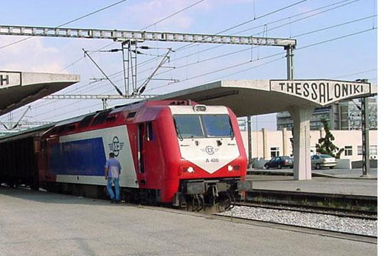 Прекини во железничкиот сообраќај во Грција
