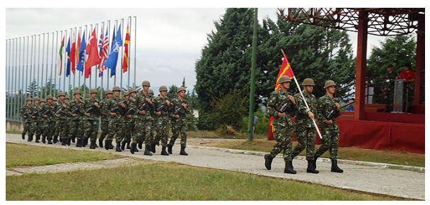 Свеченост по повод прием на 125 професионални војници во АРМ