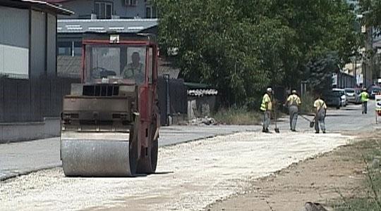 Се реконструираат улиците во индустриската зона Визбегово