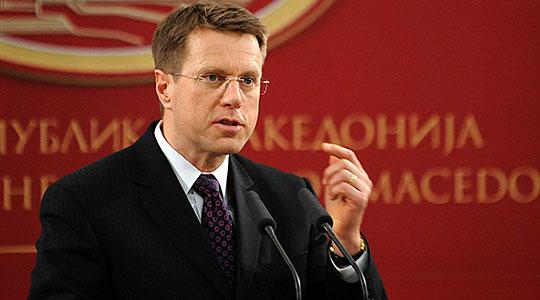 Жбогар ја презема функцијата шеф на Делегацијата на ЕУ во Македонија