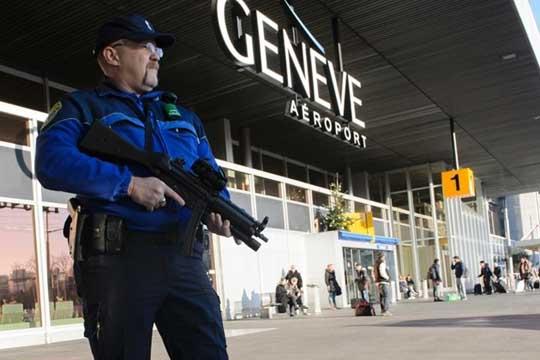 Дојава за опасност на аеродромот во Женева