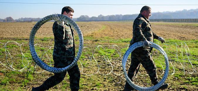 Зајакнати безбедносните мерки на словенечко-хрватската граница