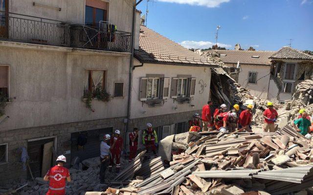 италија земјотрес