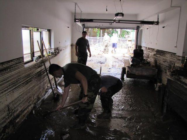 Во поплавените места најмногу се потребни средства за дезинфекциј и лична хигиена