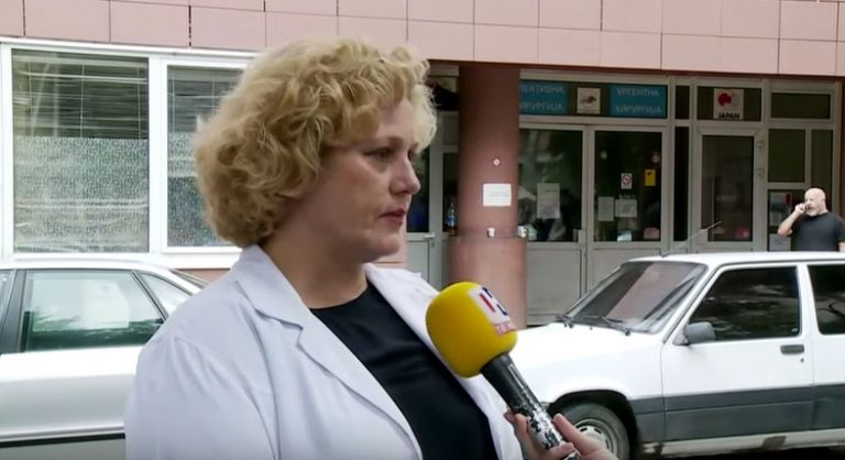 Чабуковска: 42 пациенти со повреди од невремето згрижени во изминатите 24 часа