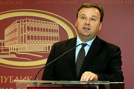 Димитриев на средба со македонските амбасадори
