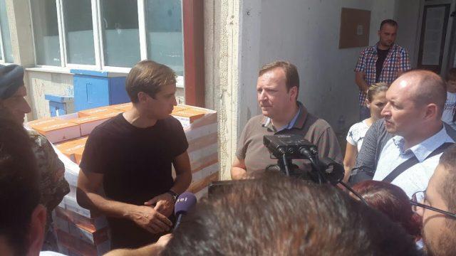Димитриев, Спасов и Миноски на терен – Обезбедени храна и вода кои ќе се делат по населени места