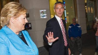 Премиерката на Норвешка брка Покемони во Братислава