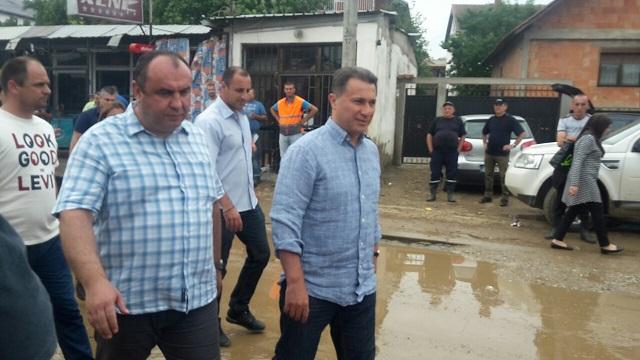 Извадена водата од домовите во Сингелиќ