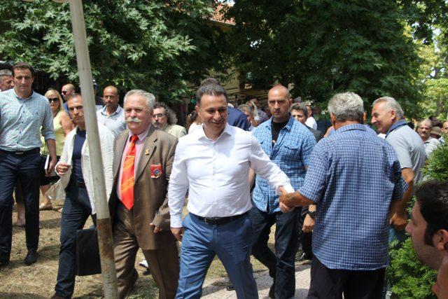 Груевски: Народот знае да цени и да носи мудри одлуки