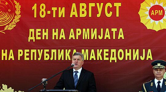 Иванов: На Армијата да ѝ се даде она што ѝ припаѓа