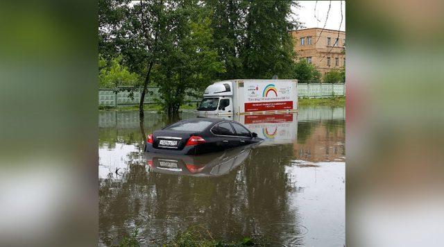 ФОТО+ВИДЕО: Поплави во Москва