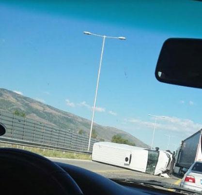 Сообраќајка на обиколница