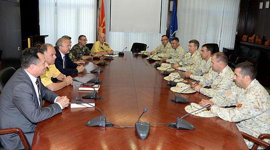"""Шест офицери на АРМ во нова ротација во мисијата """"Одлучна поддршка"""" во Авганистан"""