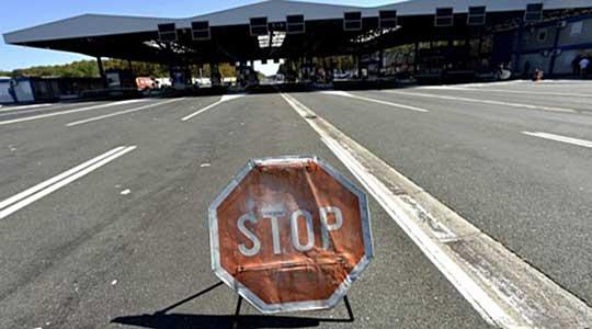 Сообраќајот на ГП Ново Село во прекин за сите возила