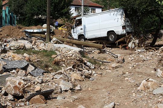 Помош од турската општина Мармара за поплавените во Скопско