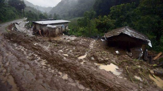 Поројни дождови и лизгање на земјиштето во Мексико – најмалку 40 загинати