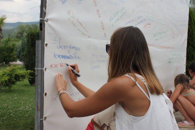 ФОТО: Граѓаните во Охрид ветија безбедност во сообраќајот преку кампањата на РСБСП