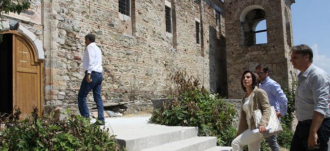 """Дојран: Црквата """"Свети Илија"""" ќе биде готова  во ноември, догодина ќе се гради наколна населба"""