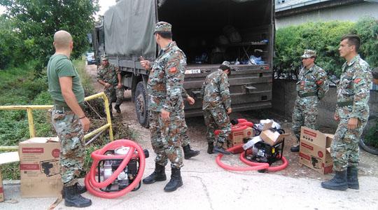 Претседателот Иванов го зголеми бројот на ангажирани припадници на АРМ