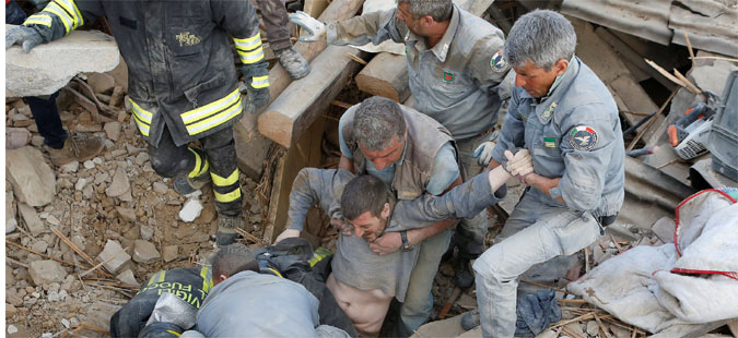 Во земјотресот во Италија 247 загинати