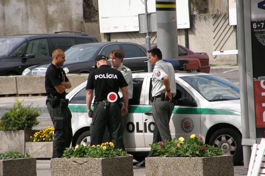 Делегација во посета на словачките полицајци на македонско-грчката граница