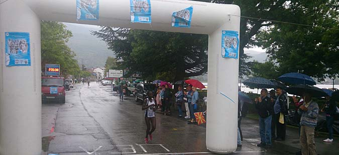 Кенијците Роп и Матебо победници на 30. Охридски Меѓународен атлетски маратон