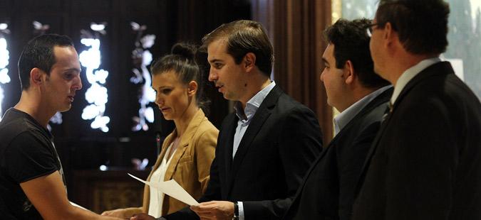 Грантови од по 3.000 евра доделени за самовработување преку отварање на бизнис