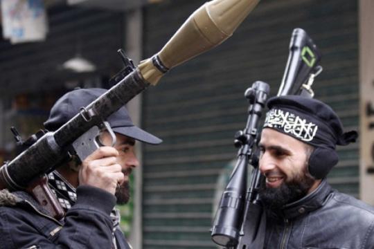Џихадистите во Сирија со прирачници