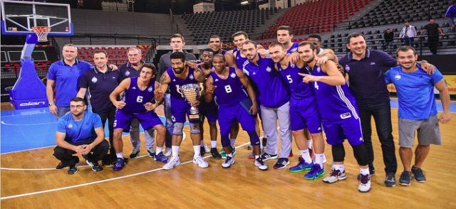 МЗТ Скопје Аеродром го освои суперкупот во кошарка на Македонија