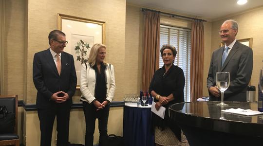 """Во Њујорк се промовираше книгата """"Дипломатијата и глобализацијата"""" на Срѓан Керим"""