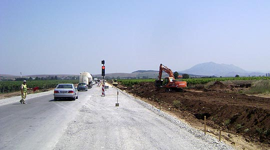 Речиси готов на експресниот пат Велес-Штип