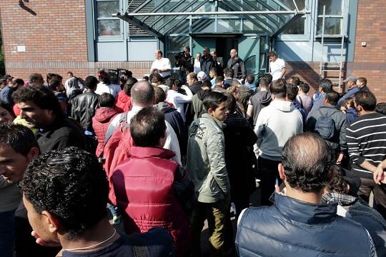 Бегалците во Германија се преквалификувани