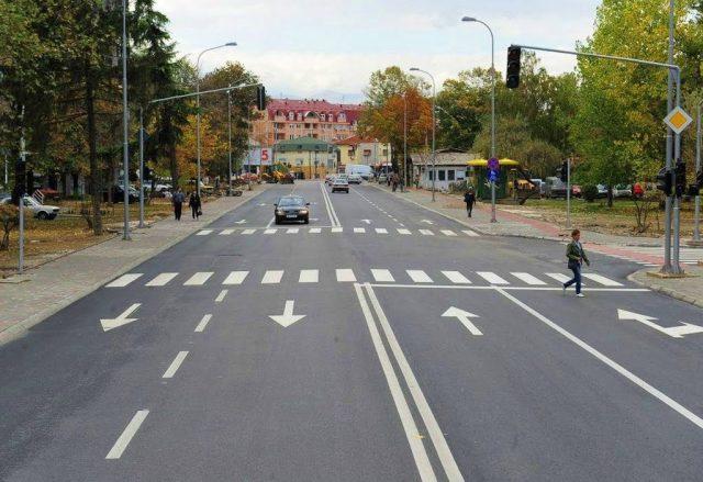 Викендов времен сообраќаен режим на булеварот Борис Трајковски