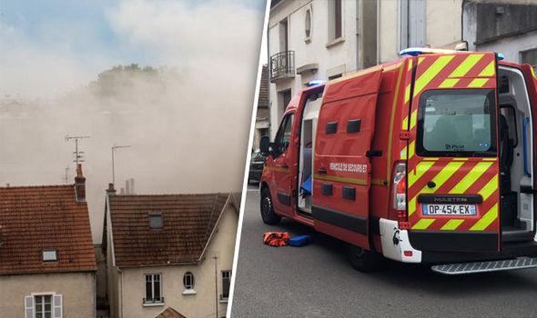 Девет повредени при експлозија во Франција