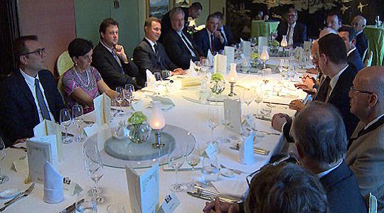 Делегација на ВМРО – ДПМНЕ на работна вечера со германски политичари и стопанственици