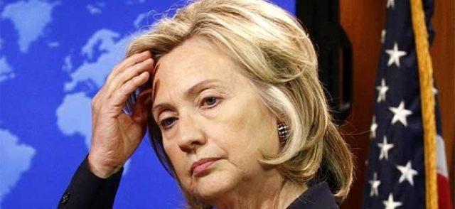 Хилари Клинтон има воспаление на белите дробови