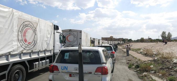 Нема стоп за хуманитарните конвои во Сирија