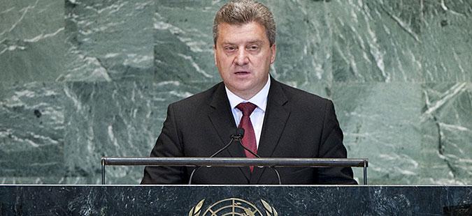 Иванов со обраќање на 71. Генерално собрание на ОН