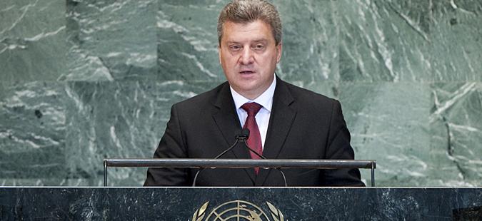 Иванов на 71. сесија на Генералното собрание на ОН во Њујорк