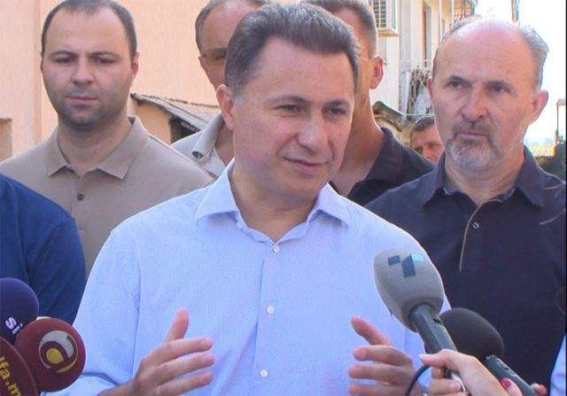 Груевски: Со концептот за минимална плата, СДСМ ќе ги залаже граѓаните нанесувајќи им штета